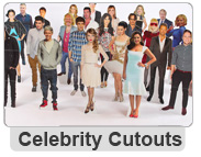 Personalised and Celebrity Cutouts