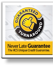 RCS Never Late Guarantee